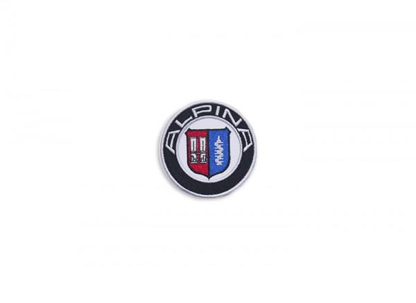 ALPINA Emblem, Stoff