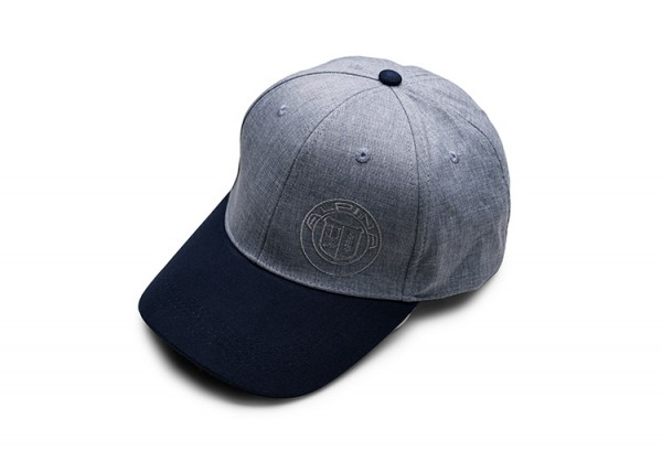 Cap, grau/blau