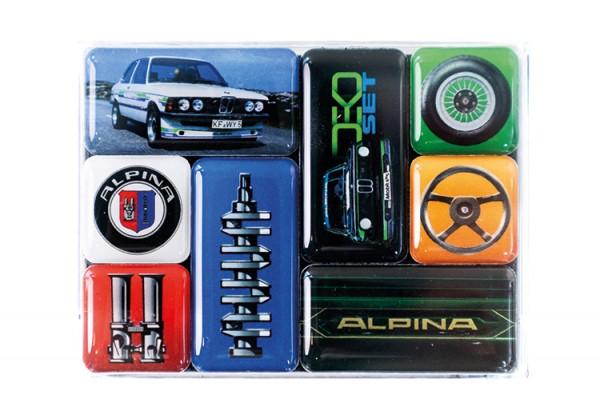 """ALPINA CLASSIC Magnet-Set """"Heritage"""""""